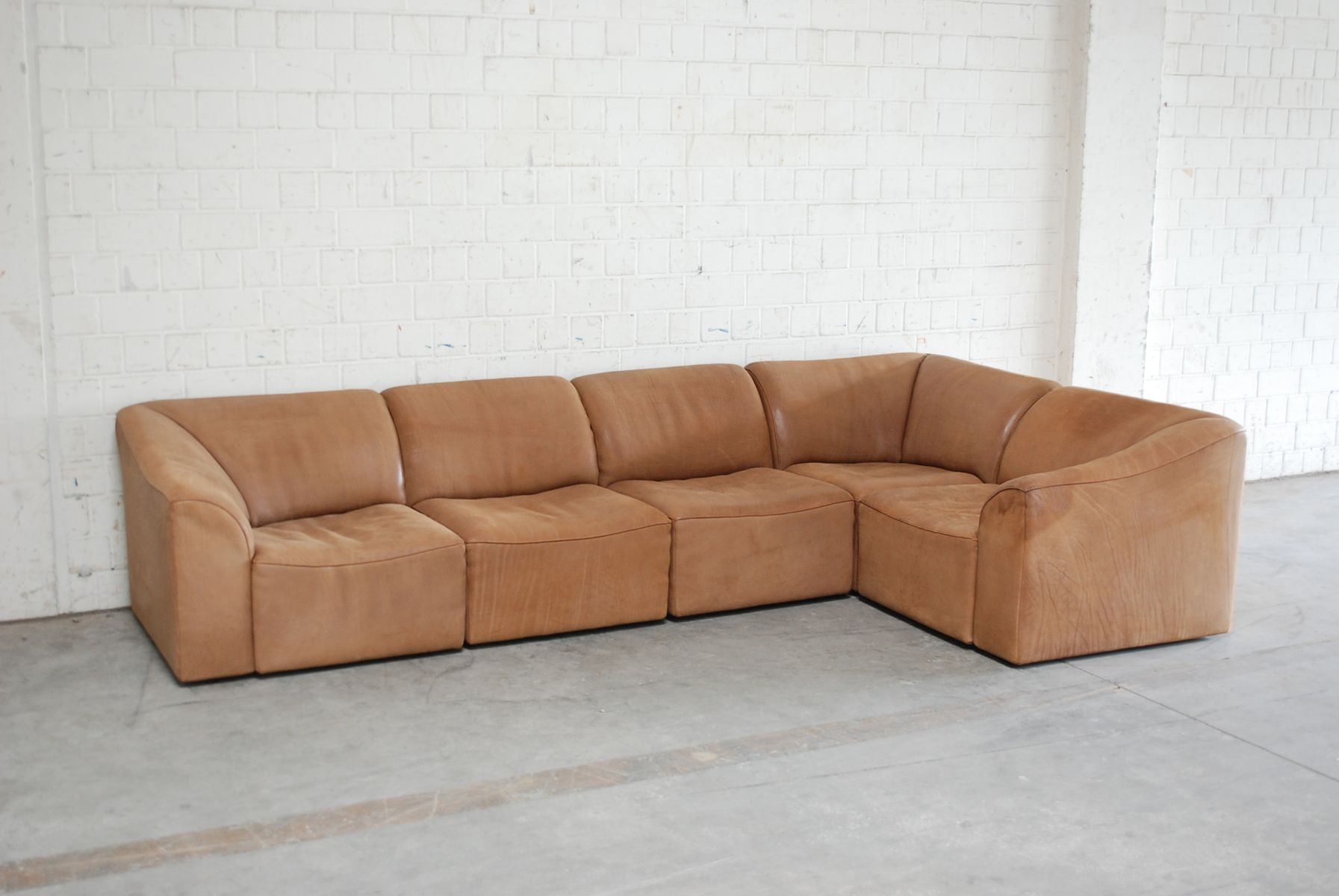 modular ds 10 leather sofa from de sede 1985 for sale at. Black Bedroom Furniture Sets. Home Design Ideas