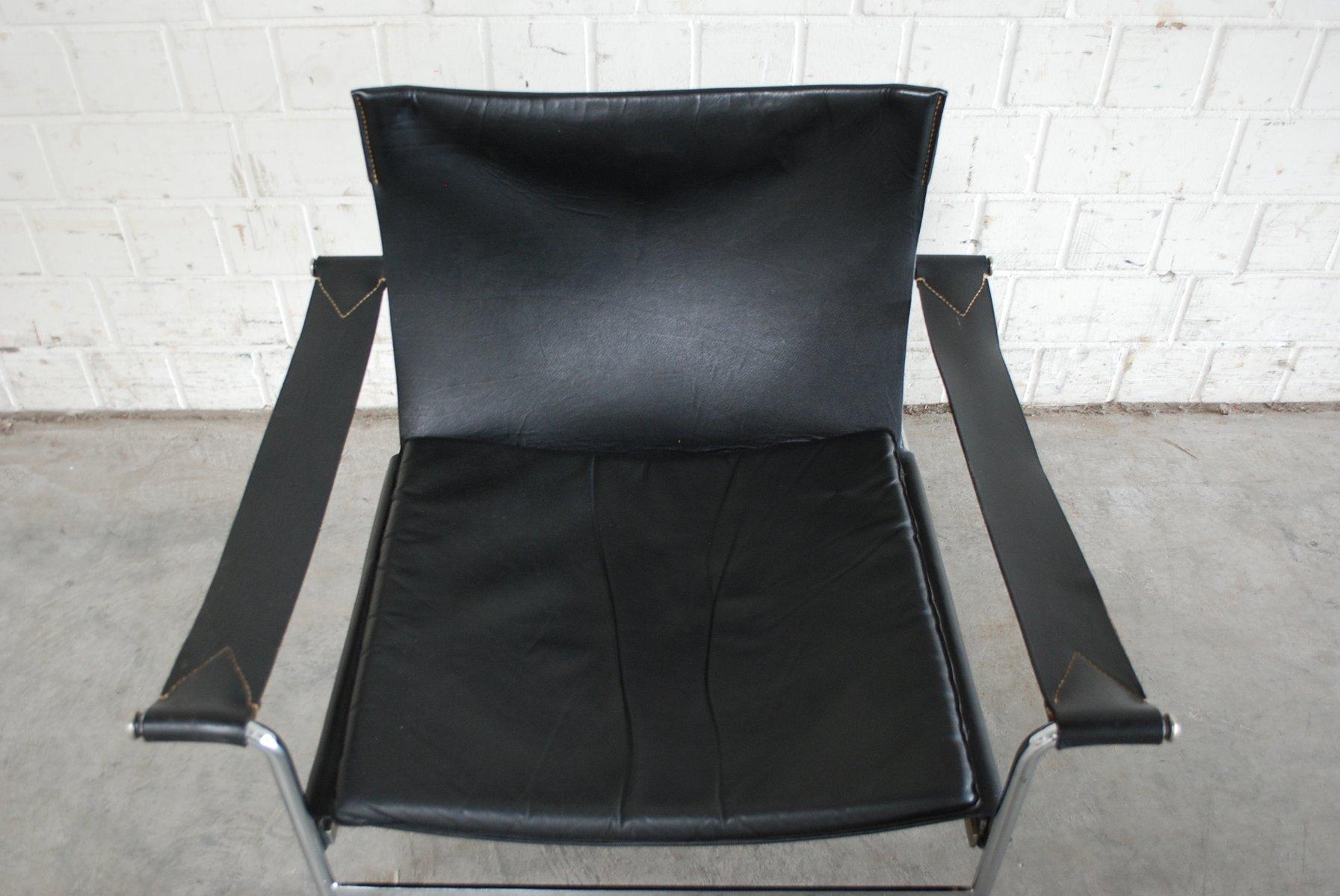 d99 leder lounge stuhl von hans k necke f r tecta 1969 bei pamono kaufen. Black Bedroom Furniture Sets. Home Design Ideas