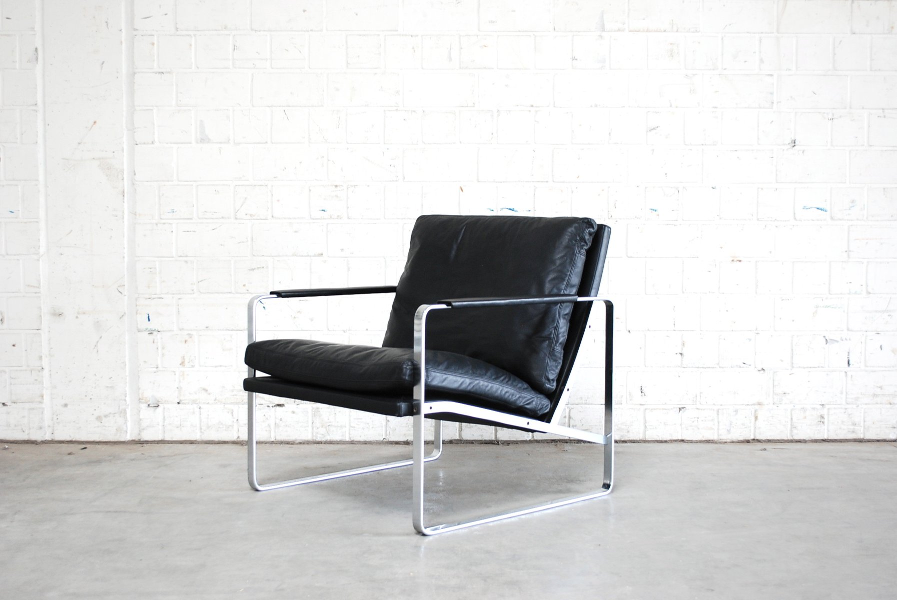 model 710 10 easy chair by preben fabricius for walter knoll for sale at pamono. Black Bedroom Furniture Sets. Home Design Ideas