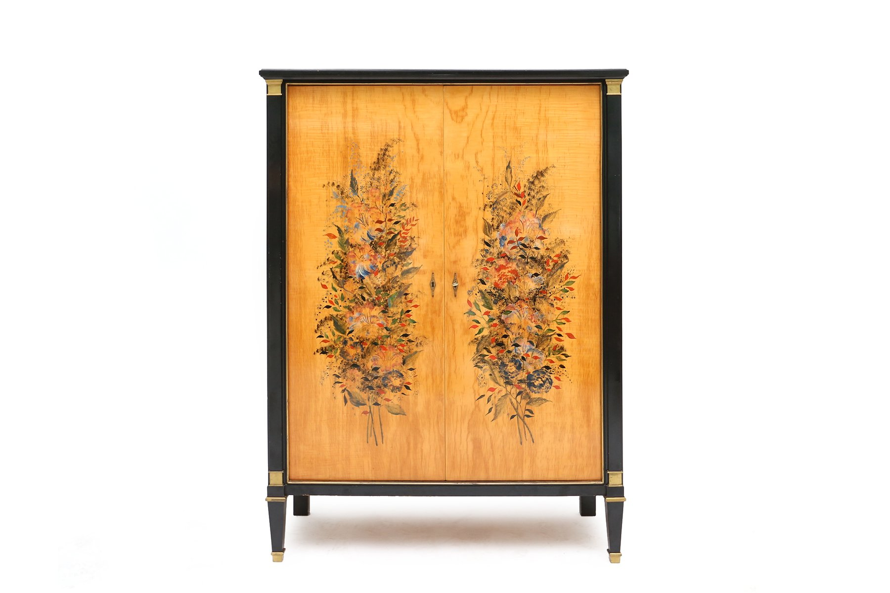 armoire art d co par paul vandenbulcke pour de coene 1948 en vente sur pamono. Black Bedroom Furniture Sets. Home Design Ideas