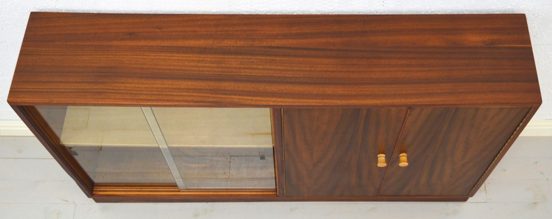 Mid Century Walnut Bookcase From Morris Of Glasgow For At Pamono