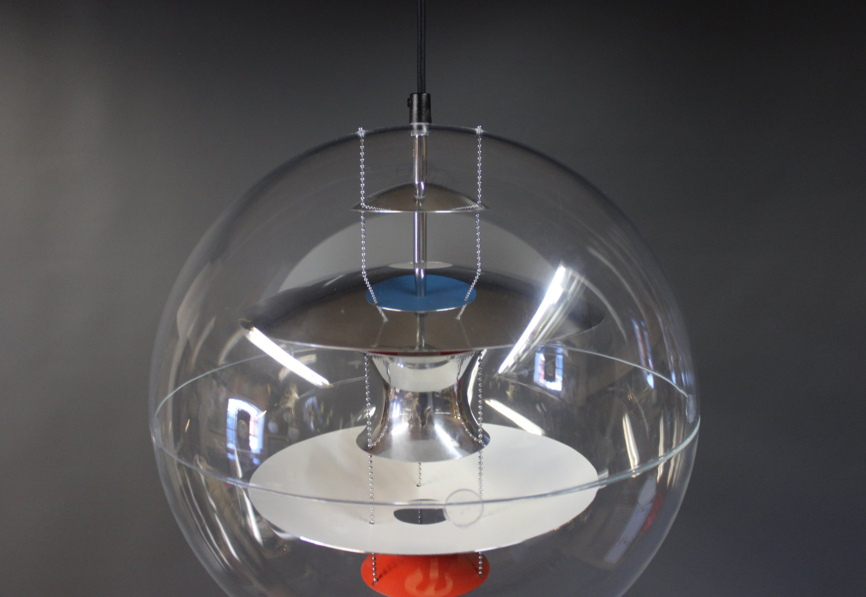 d nische globe lampe von verner panton 1969 bei pamono kaufen. Black Bedroom Furniture Sets. Home Design Ideas