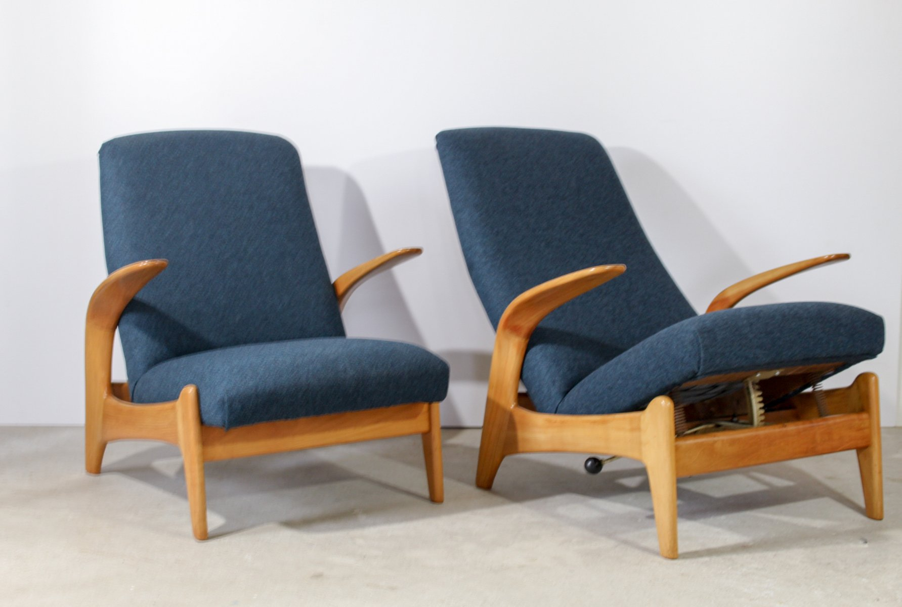 fauteuils scandinaves de gimson slater 1960s set de 2 en vente sur pamono. Black Bedroom Furniture Sets. Home Design Ideas