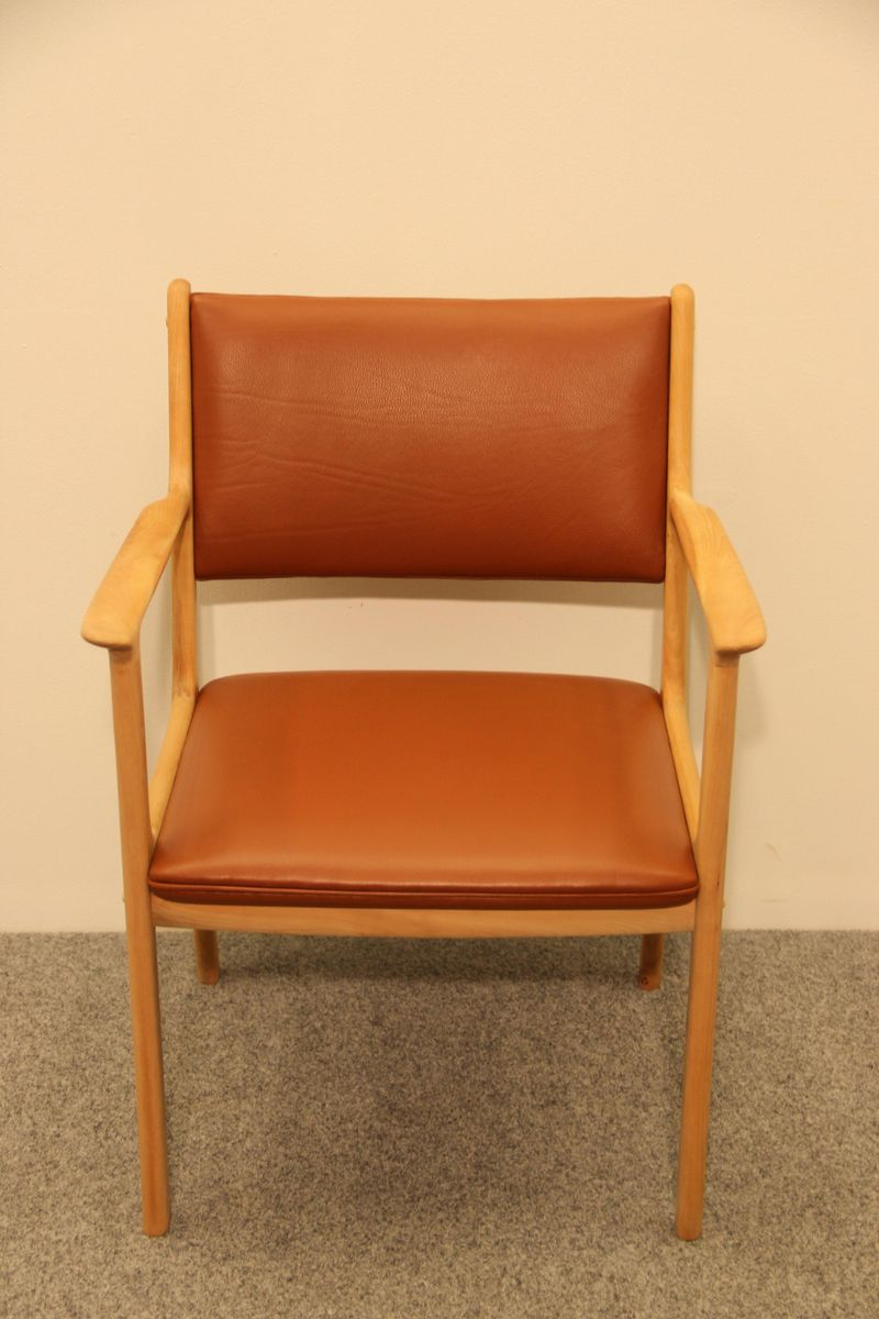 Mid Century Pj412 Armchair By Ole Wanscher P Jeppesen For
