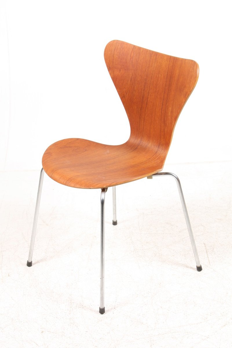 Danish Series 7 Teak Dining Chairs by Arne Jacobsen for Fritz