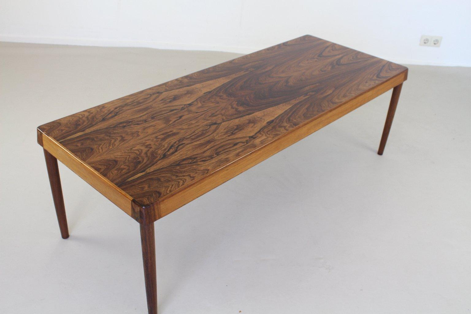table basse scandinave en palissandre en vente sur pamono