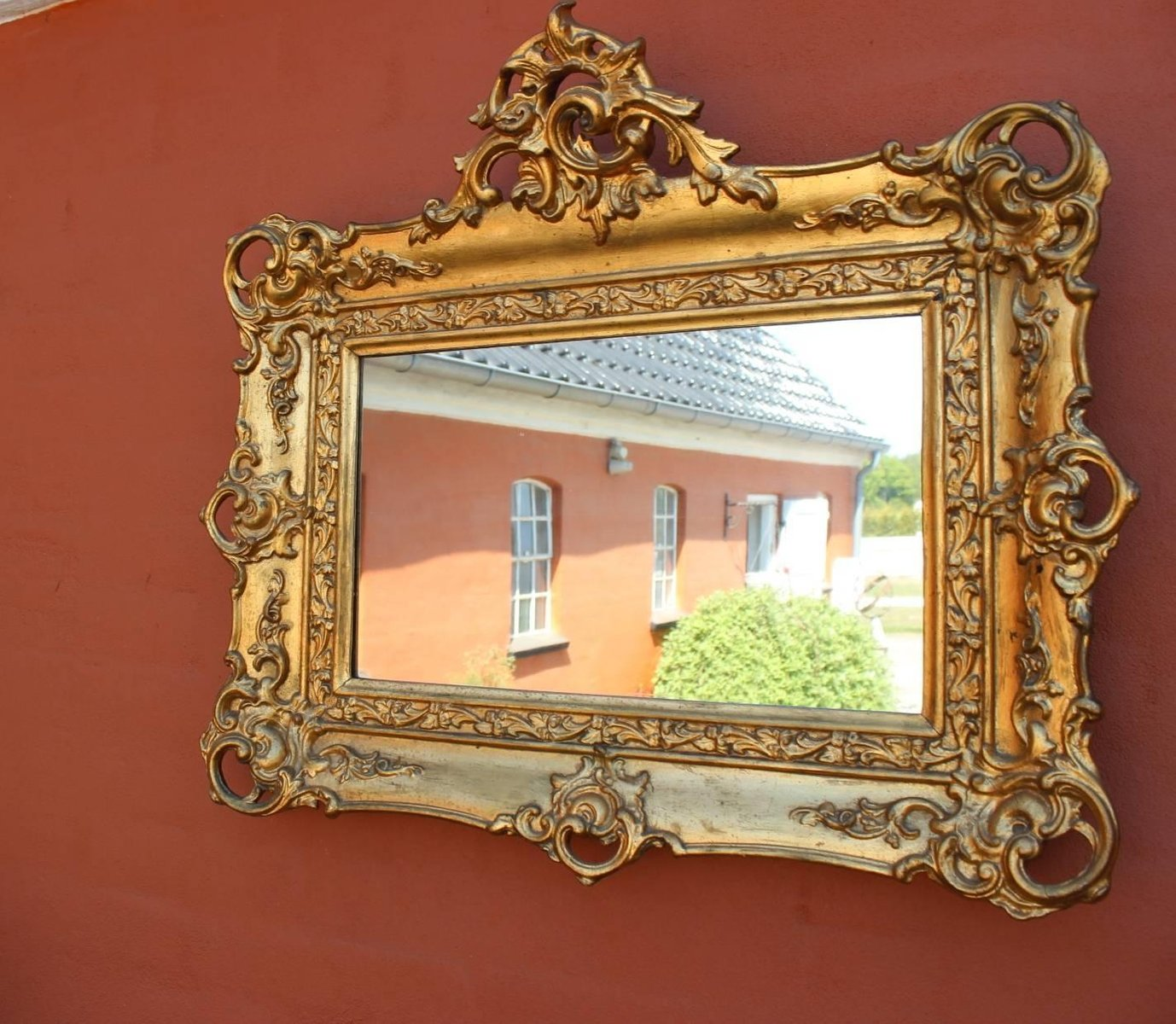 Antique Gold Leaf Frame Mirror 1820s For Sale At Pamono