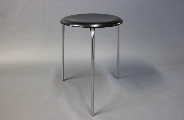 Model 3107 Stool By Arne Jacobsen And Fritz Hansen 1960s
