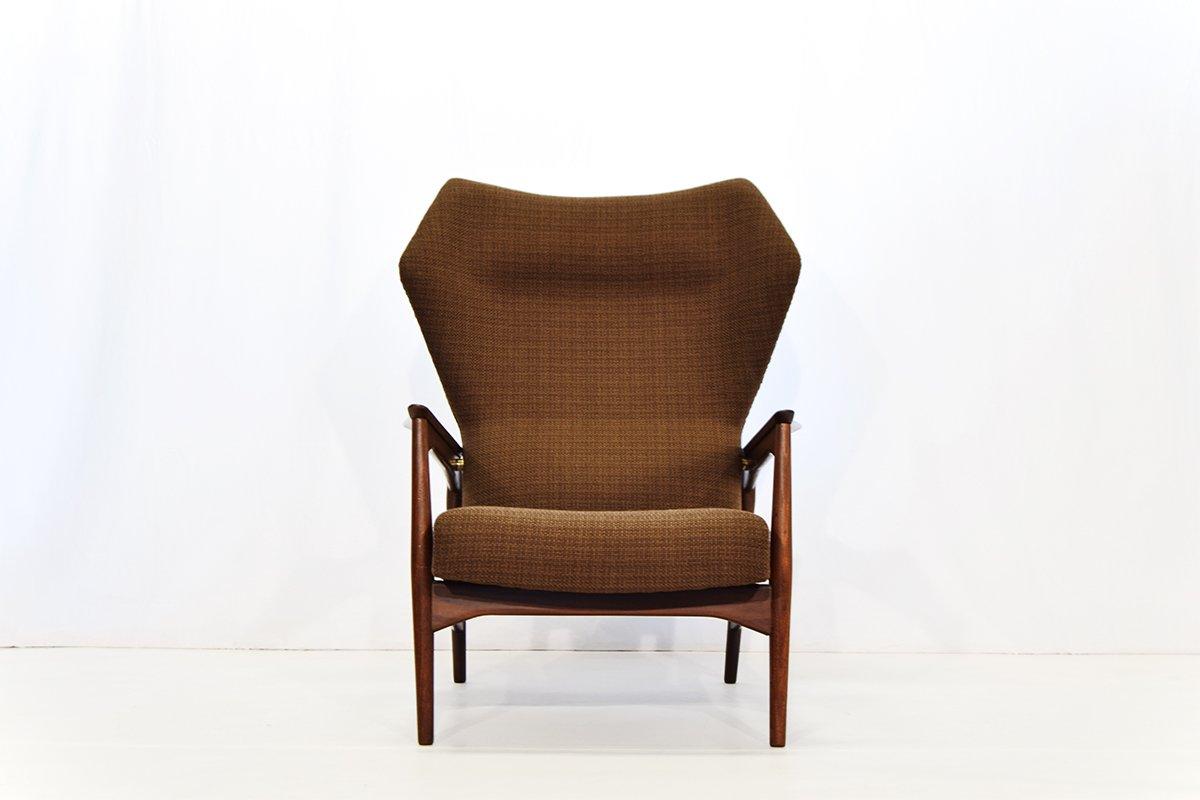 ohrensessel mit verstellbarer r ckenlehne von ib kofod larsen f r carlo gahrn 1954 bei pamono. Black Bedroom Furniture Sets. Home Design Ideas