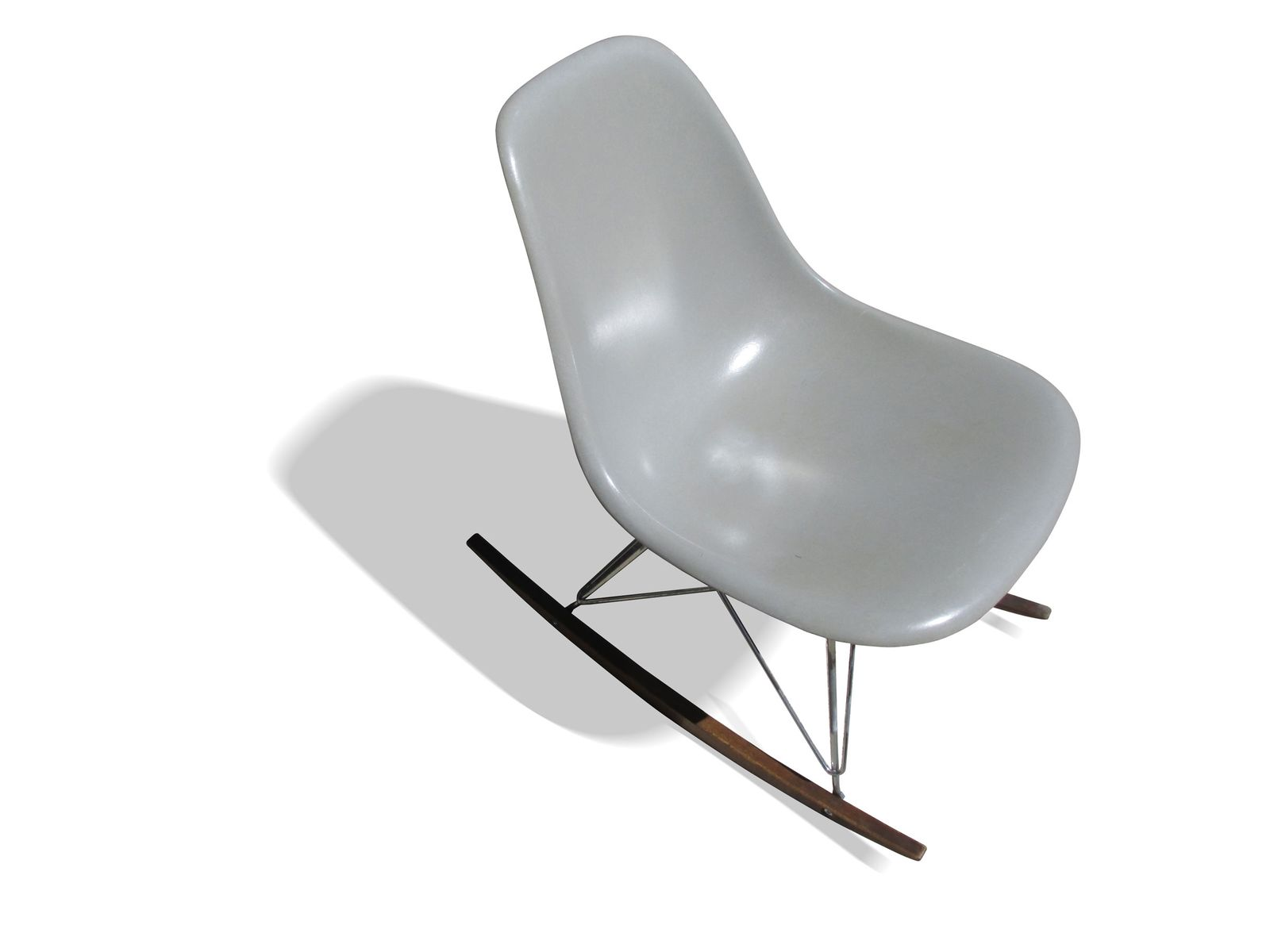 Grey Rocking Chair by Charles & Ray Eames for Herman Miller 1960s