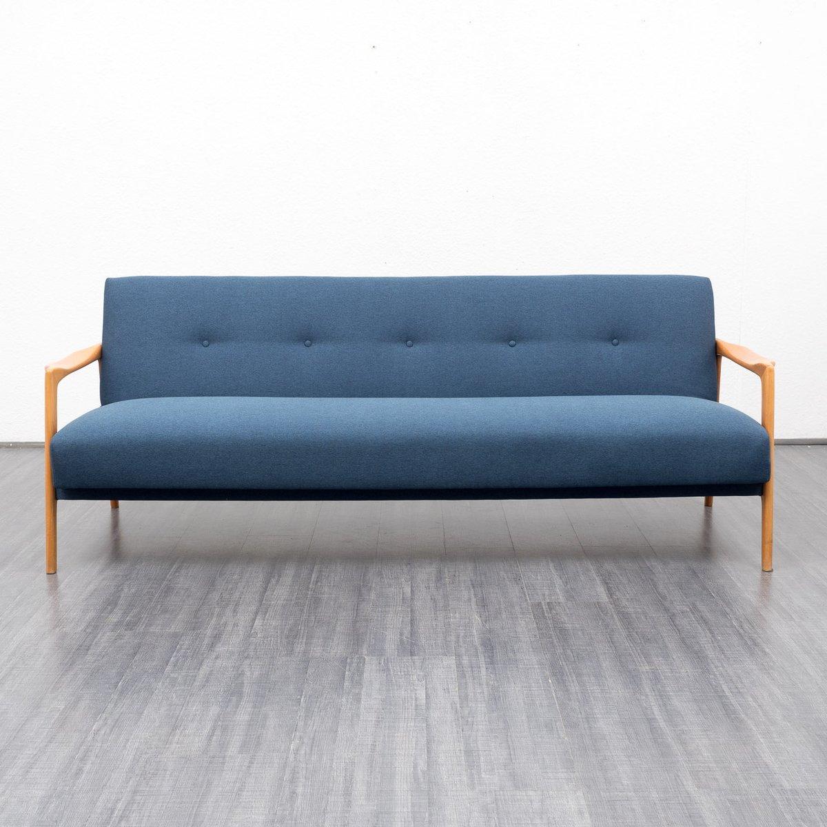Vintage 3 sitzer kirschholz sofa bei pamono kaufen for Sofa 5 sitzer