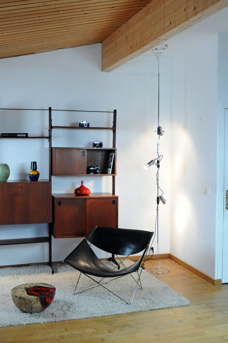 boden bis decken lampe von francesco fois f r reggiani 1960er bei pamono kaufen. Black Bedroom Furniture Sets. Home Design Ideas