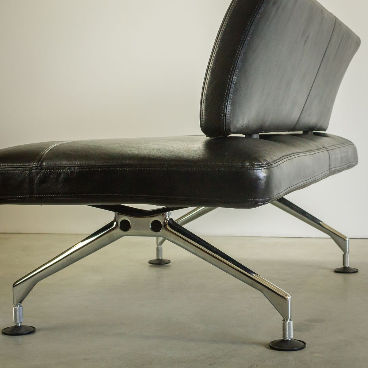 area leather sofa by antonio citterio for vitra 1998 for sale at pamono. Black Bedroom Furniture Sets. Home Design Ideas