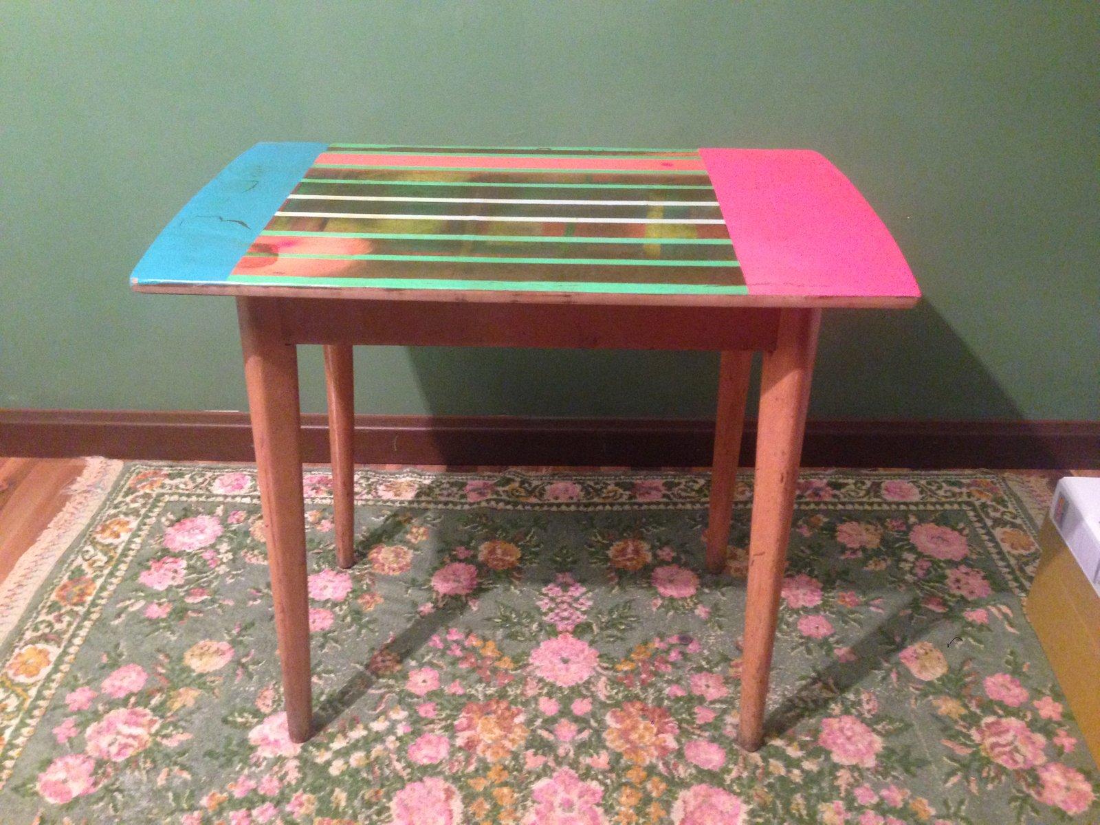 kleiner tisch von markus friedrich staab bei pamono kaufen. Black Bedroom Furniture Sets. Home Design Ideas