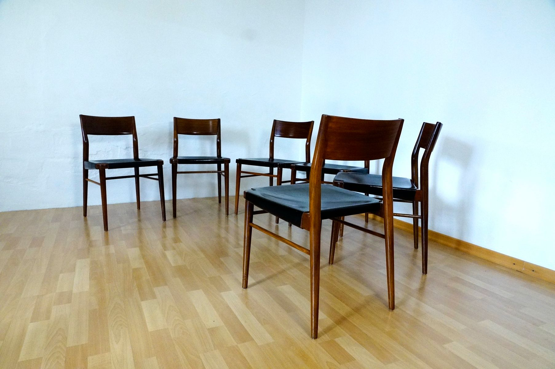 Dining Room Chairs by G. Leowald for Wilkhahn, 1950s, Set of 6 for ...
