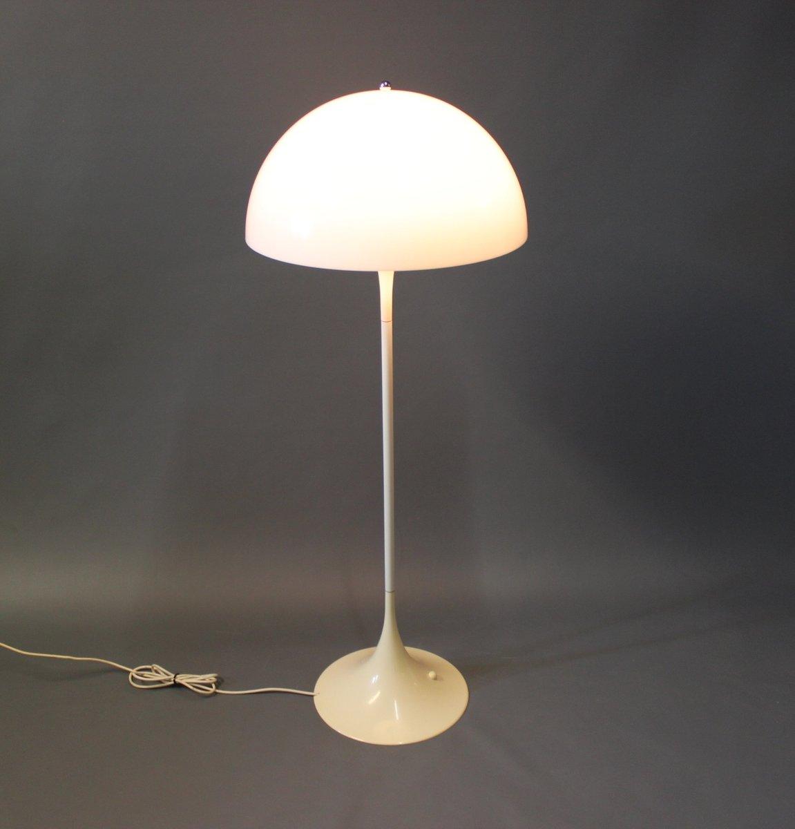 danish panthella floor lamp by verner panton for louis poulsen 1970s for sale at pamono. Black Bedroom Furniture Sets. Home Design Ideas