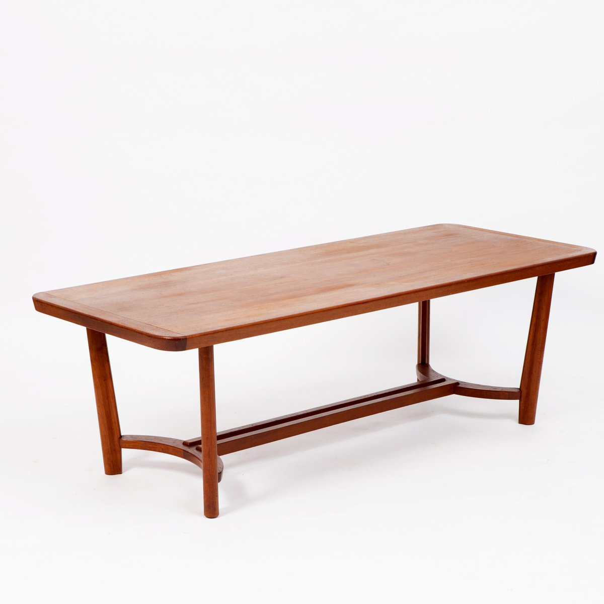 mid century scandinavian teak coffee table for sale at pamono. Black Bedroom Furniture Sets. Home Design Ideas