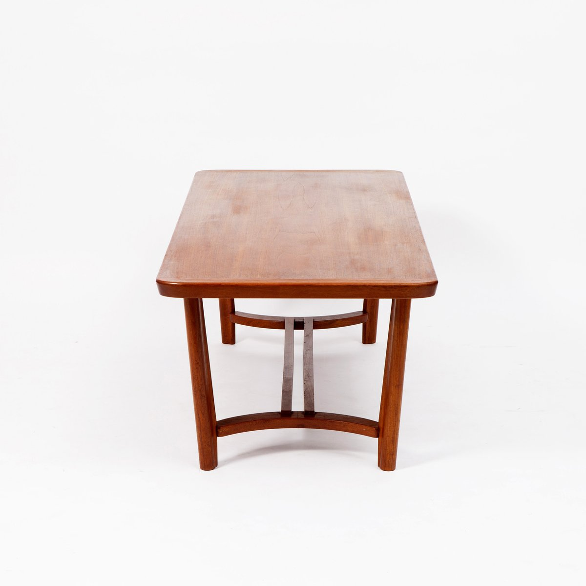 Scandinavian Teak Coffee Table: Mid-Century Scandinavian Teak Coffee Table For Sale At Pamono