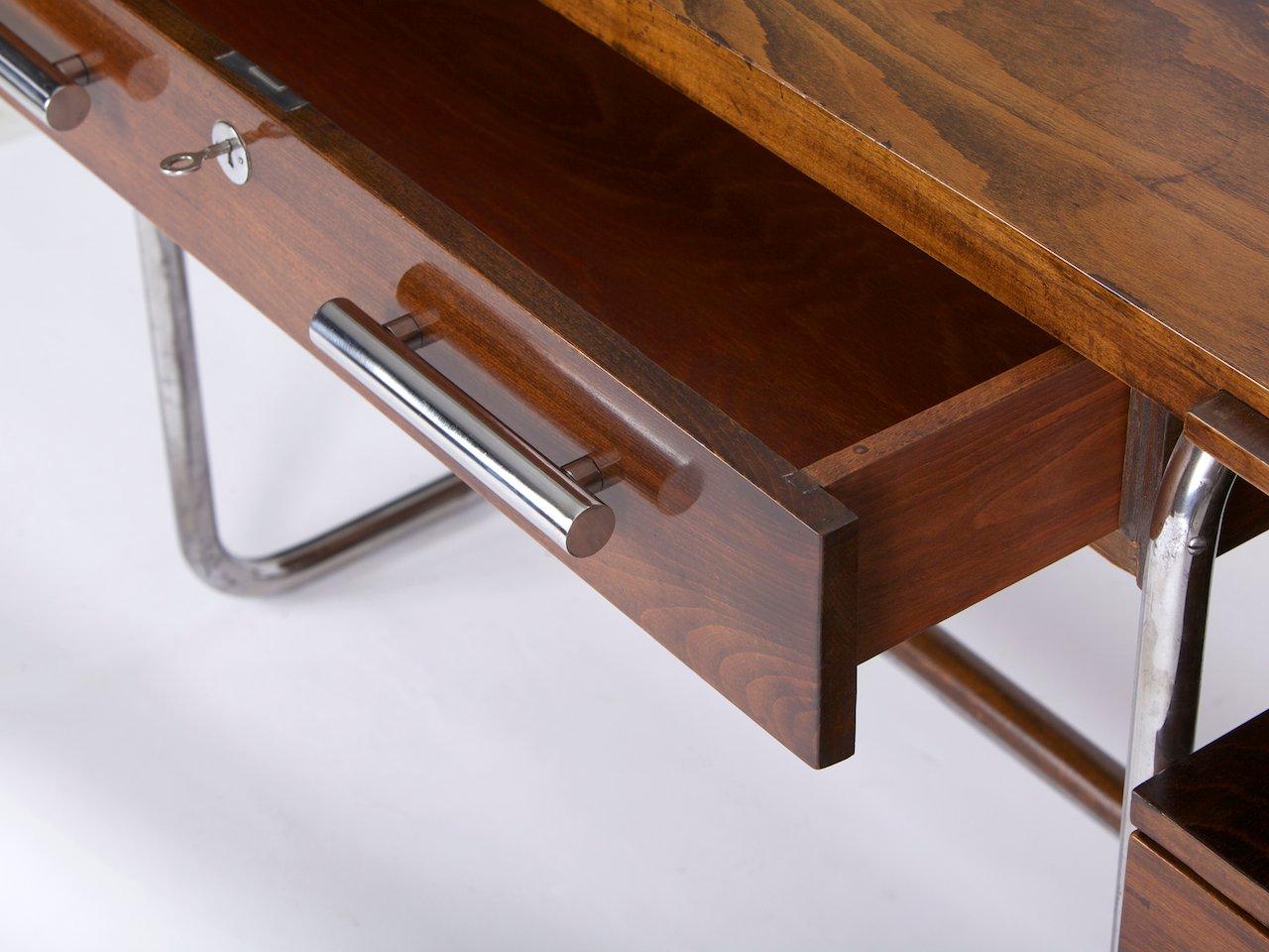 tschechischer bauhaus schreibtisch von hynek gottwald. Black Bedroom Furniture Sets. Home Design Ideas