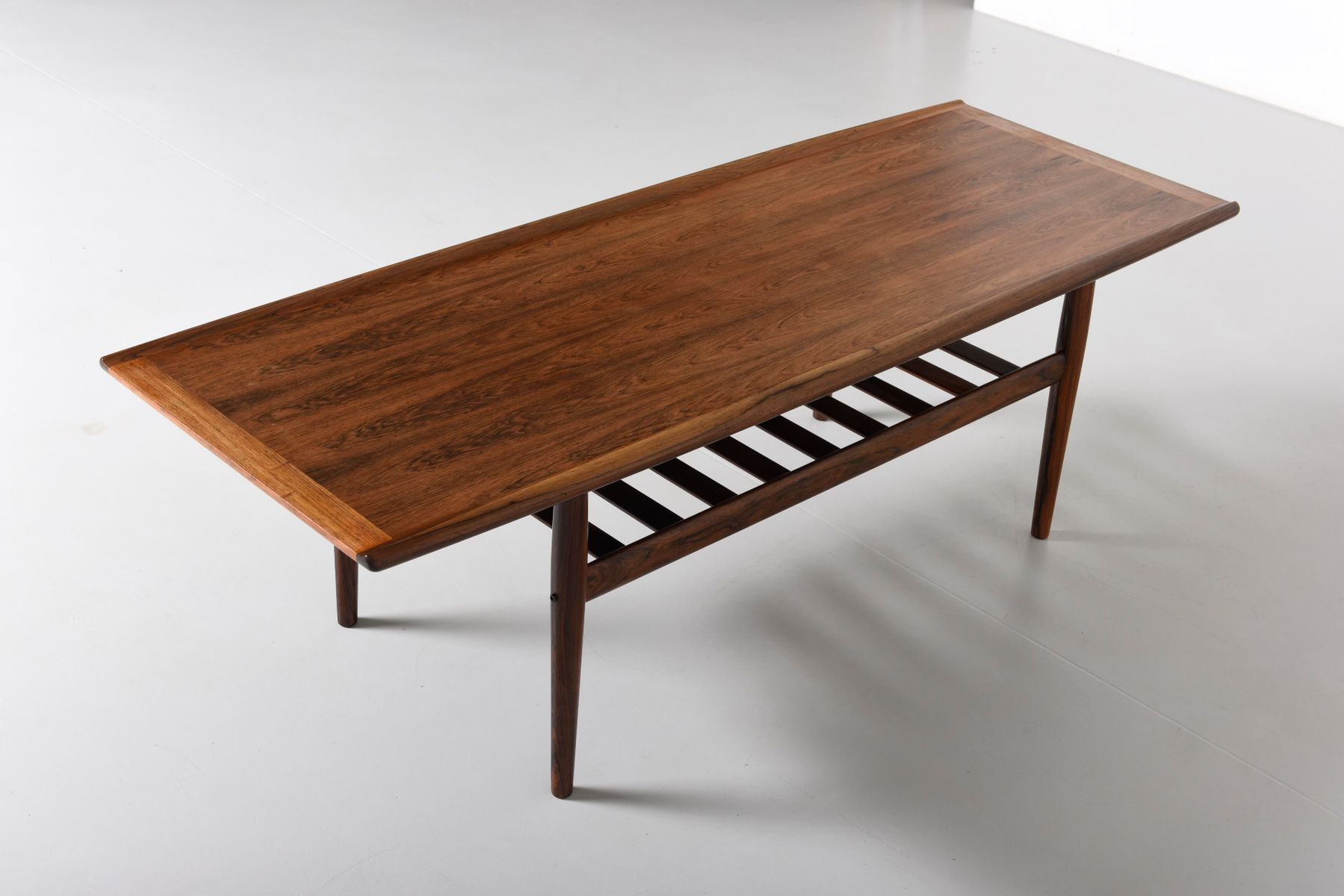 Danish Rosewood Low Coffee Table By Grete Jalk For Glostrup M Belfabrik 1960s For Sale At Pamono