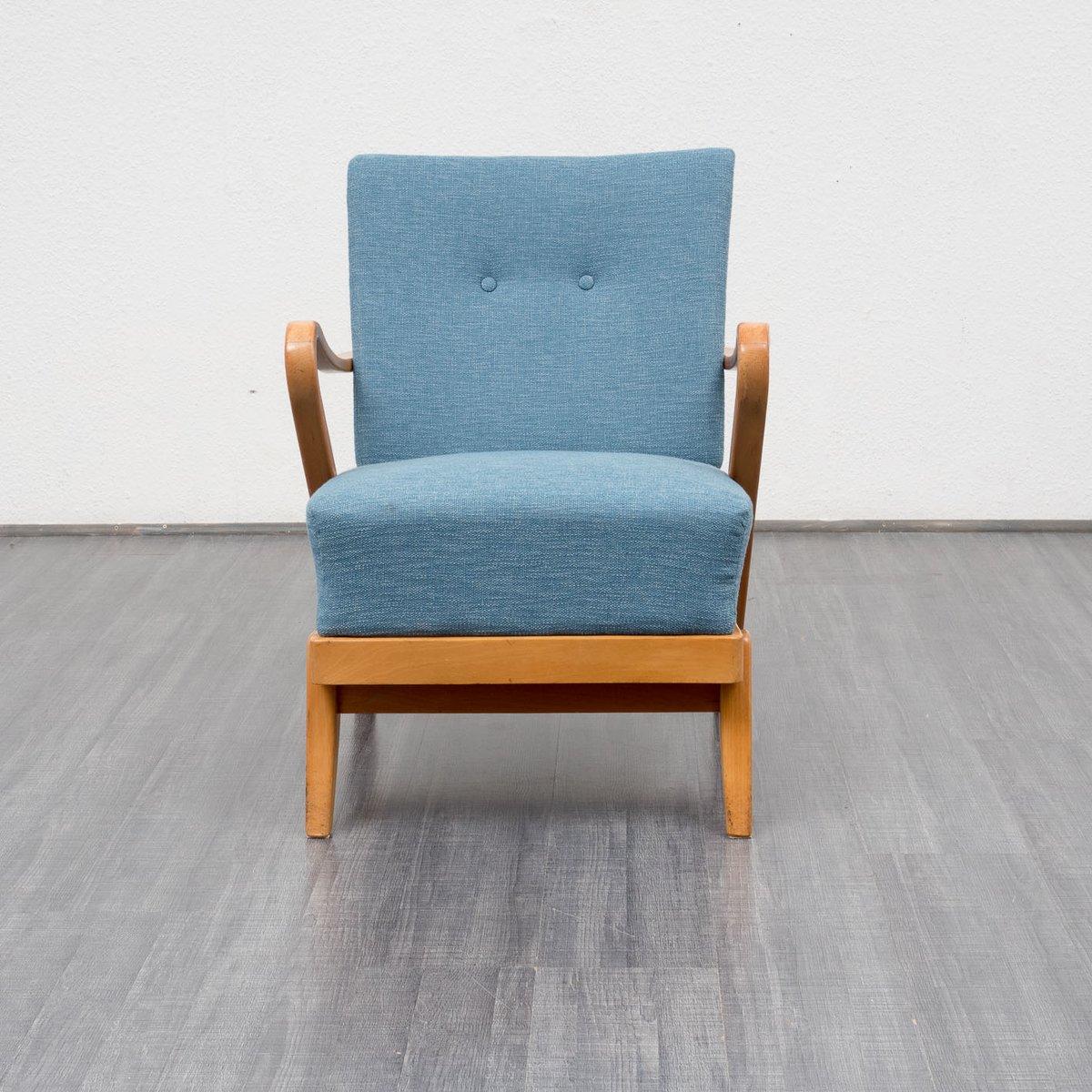 Mid century sessel aus buche 1950er bei pamono kaufen - Sessel mid century ...
