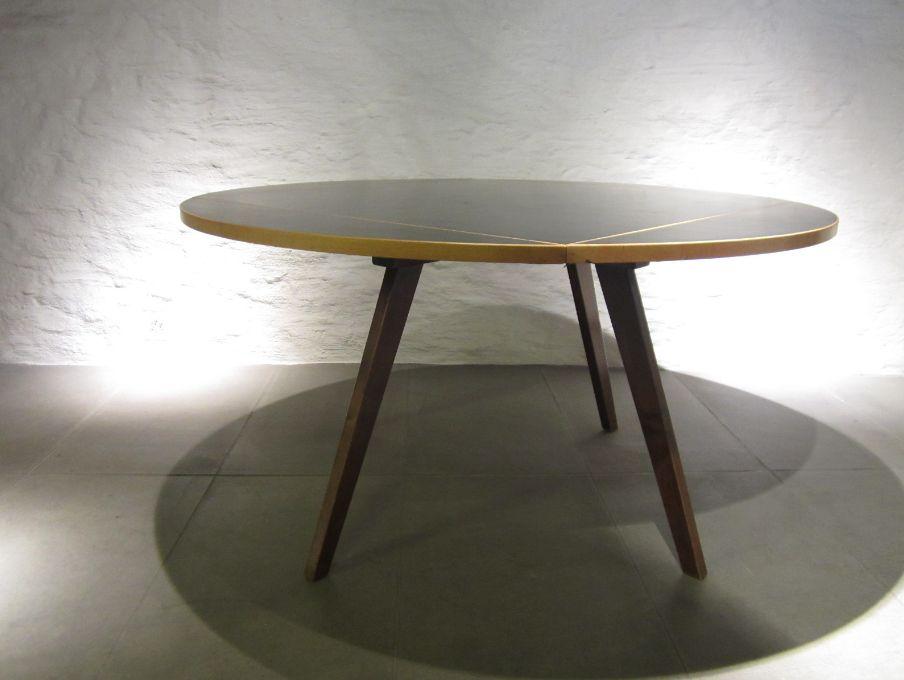 Square round tisch von max bill f r horgen glarus 1950er for Tisch billig