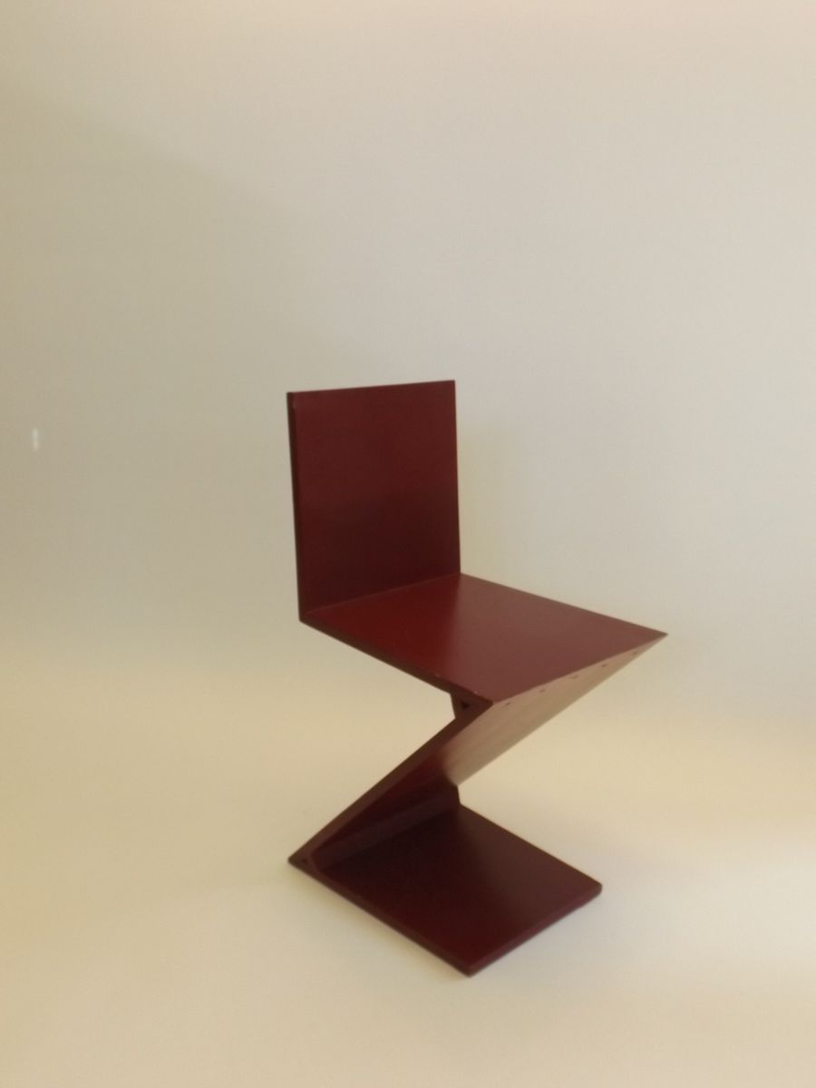 Dutch z chair by gerrit rietveld for sale at pamono for Dutch design chair uk