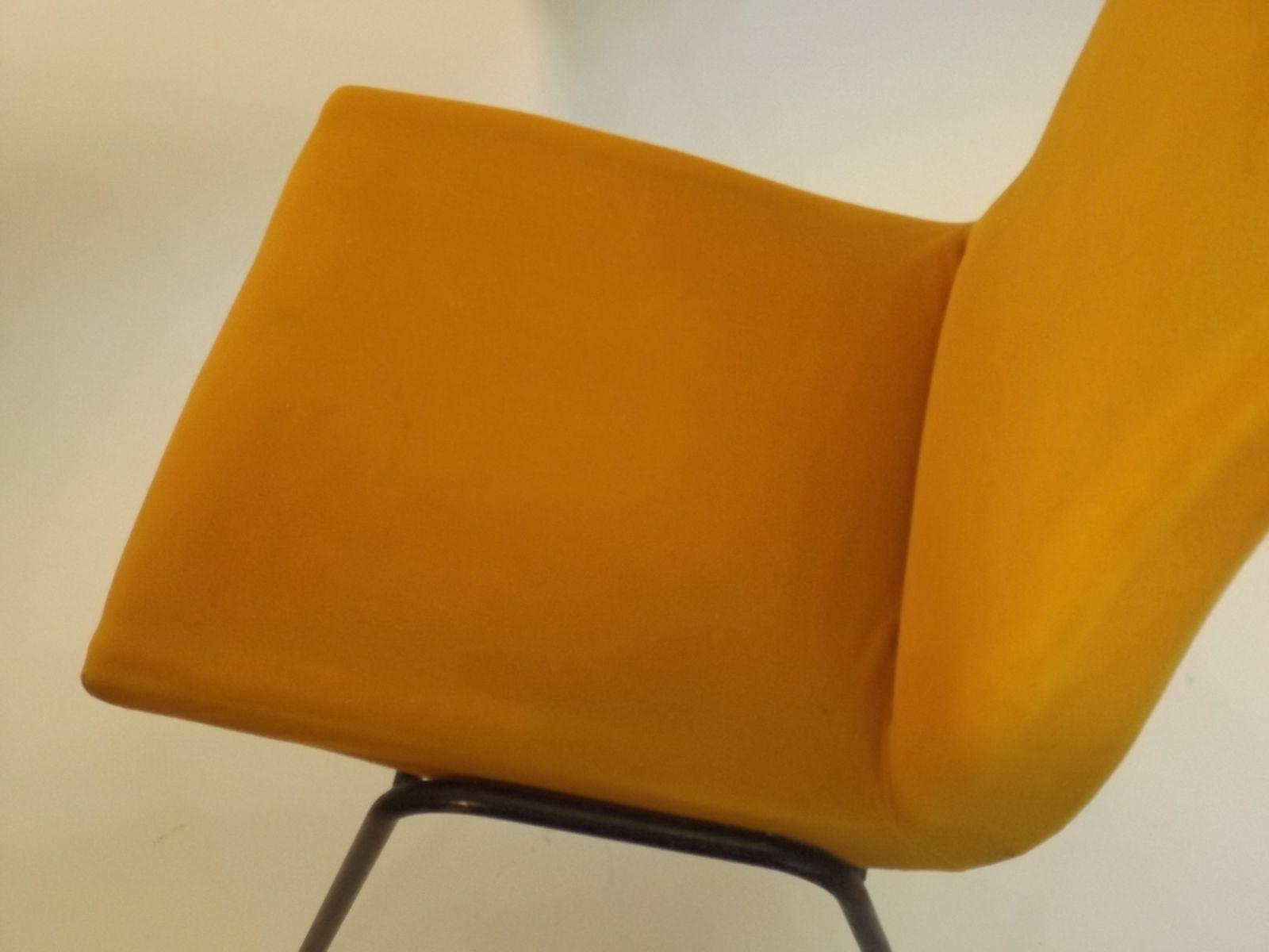 Chaises de salon robert par pierre guariche pour meurop belgique 1960s set - Fabricant chaises belgique ...