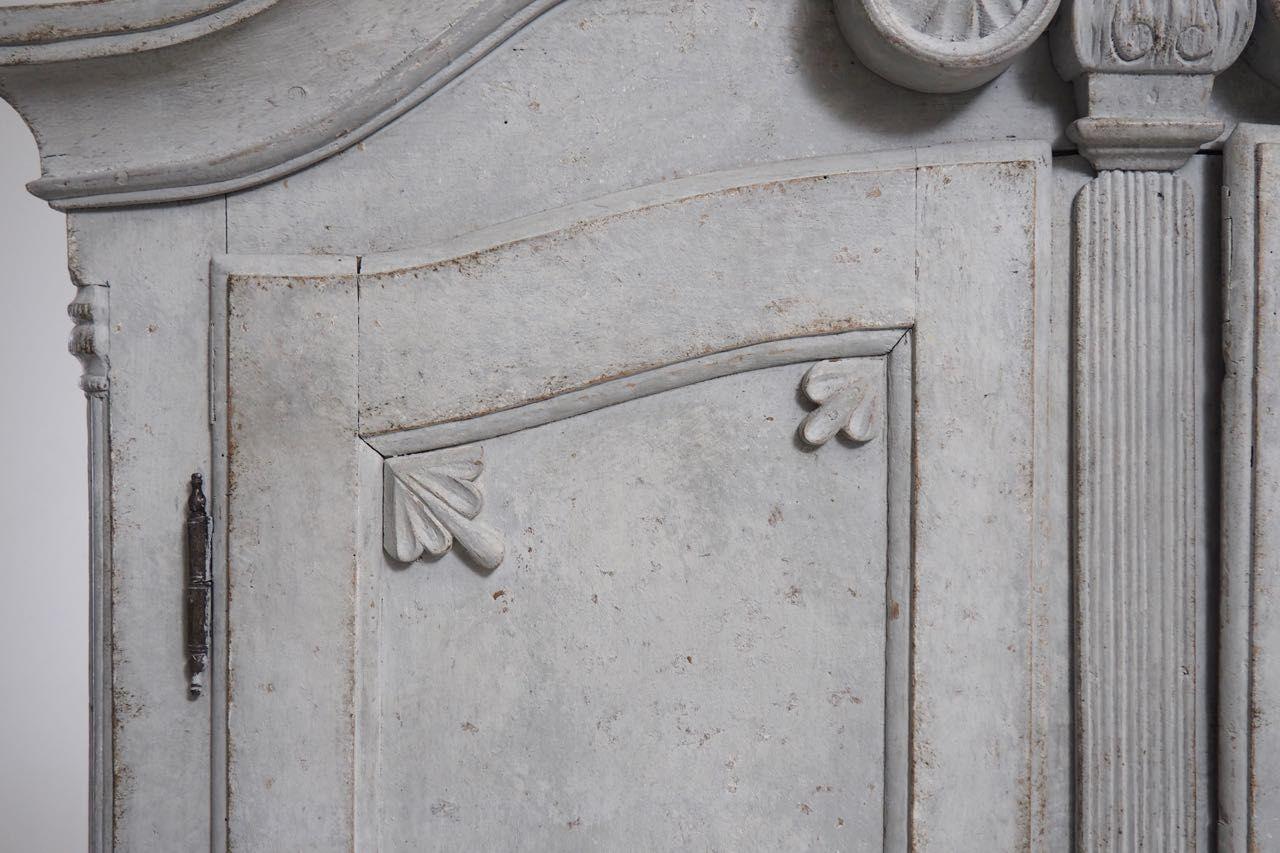 zweiteiliger skandinavischer sekret r mit schubladen 1760er bei pamono kaufen. Black Bedroom Furniture Sets. Home Design Ideas