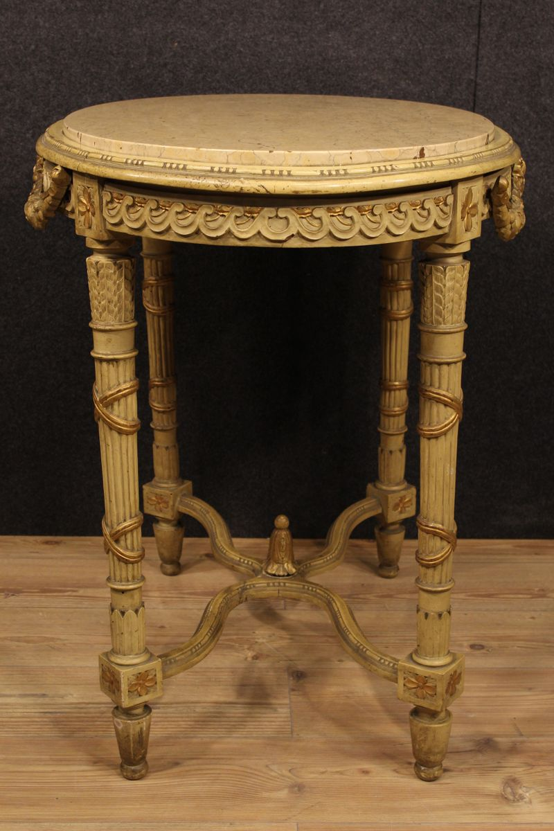 french louis xvi console table 1870s for sale at pamono. Black Bedroom Furniture Sets. Home Design Ideas