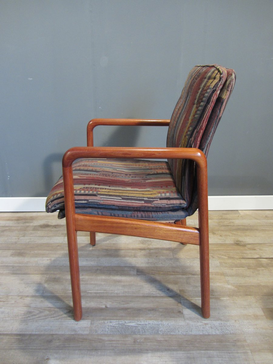 Mid Century Danish Teak Dining Chairs From Dyrlund Set Of 4 For Sale At Pamono