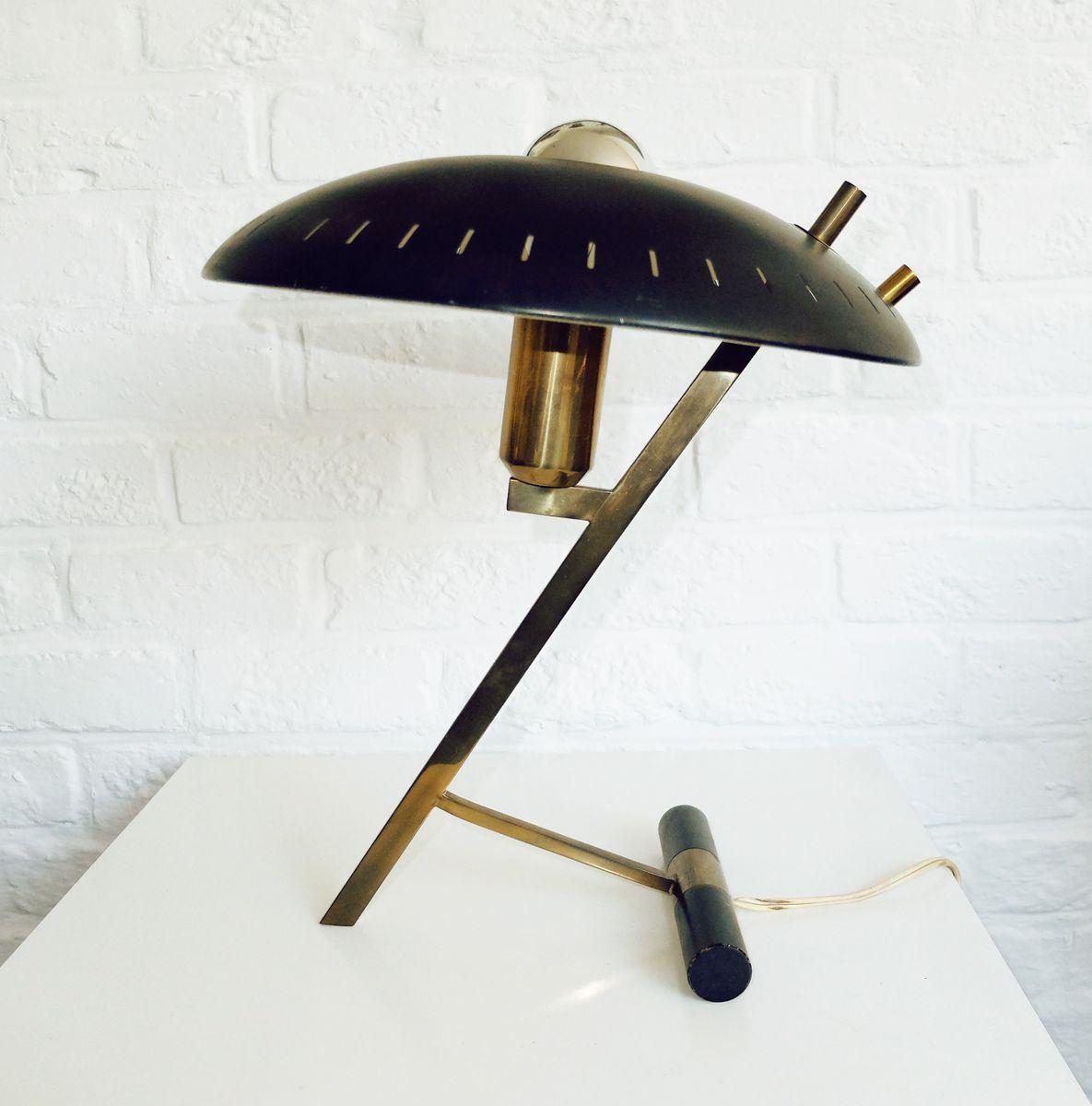 lampe de bureau z par louis kalff pour philips 1950s en vente sur pamono. Black Bedroom Furniture Sets. Home Design Ideas