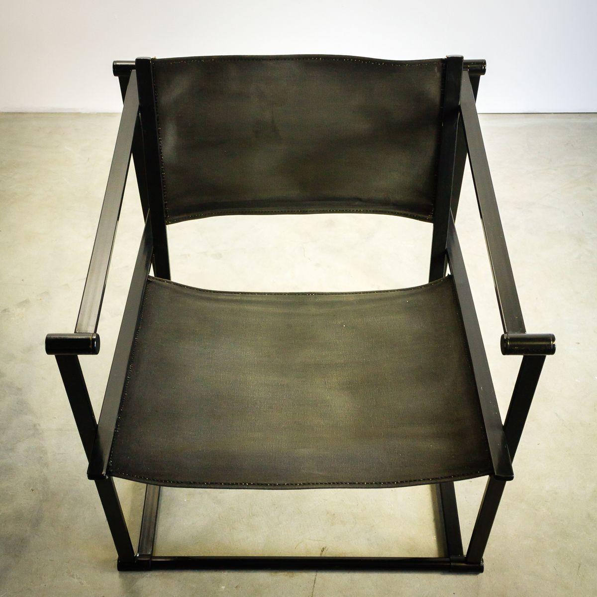schwarze fm60 st hle von radboud van beekum f r pastoe 1980er 2er set bei pamono kaufen. Black Bedroom Furniture Sets. Home Design Ideas