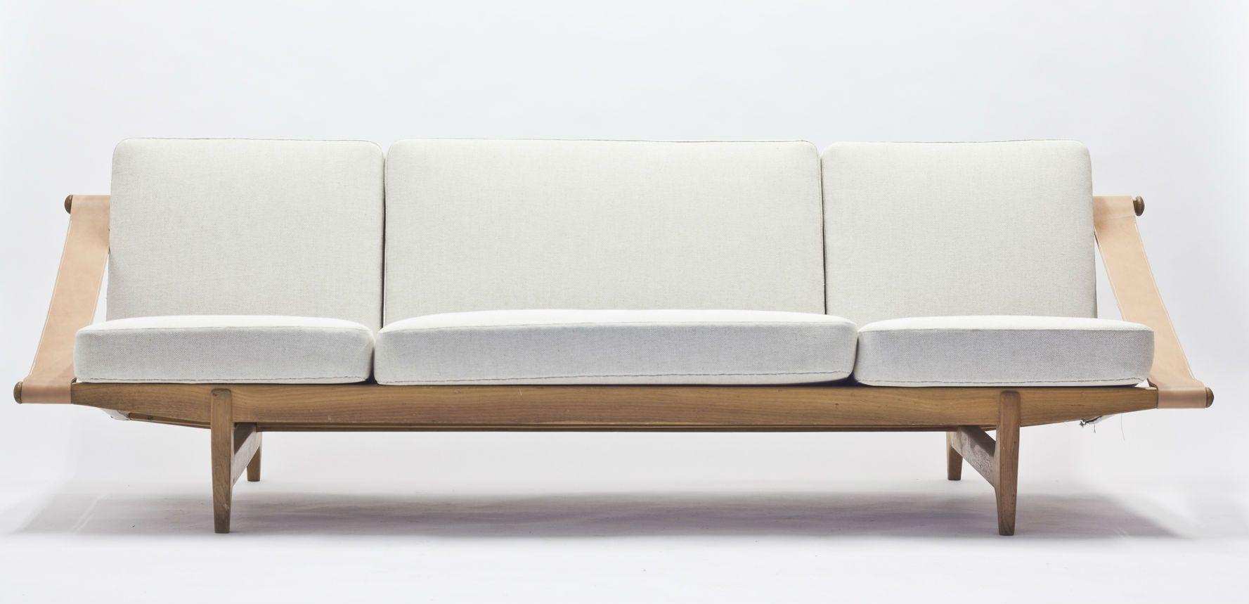 Scandinavian Safari Style Sofa 1950s For Sale At Pamono