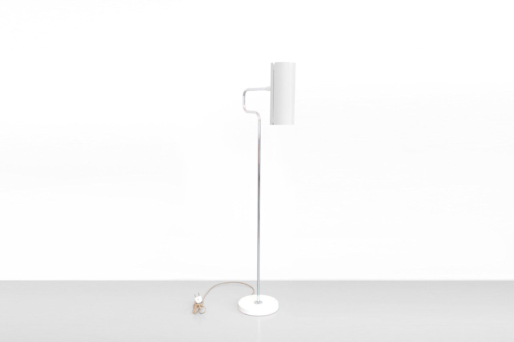 wei e skandinavische stehlampe von bergboms f r asea bei. Black Bedroom Furniture Sets. Home Design Ideas