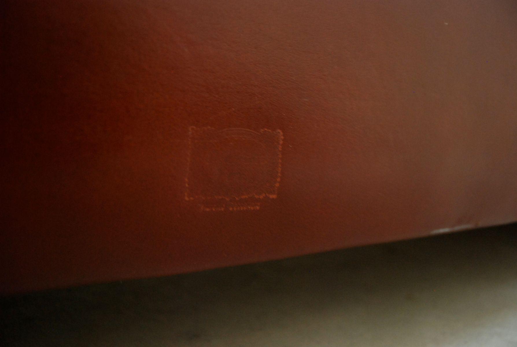 Red Italian Leather Sofa hmmi