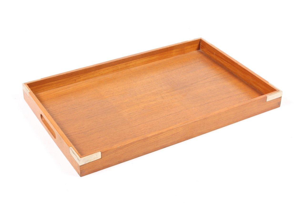 plateau en teck par jens harald quistgaard pour richard nissen danemark 1950s en vente sur pamono. Black Bedroom Furniture Sets. Home Design Ideas