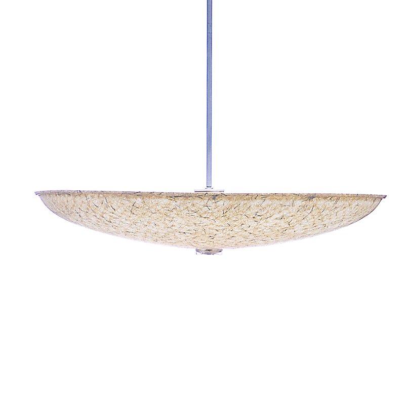 grande lampe suspension en fibre de verre par louis. Black Bedroom Furniture Sets. Home Design Ideas