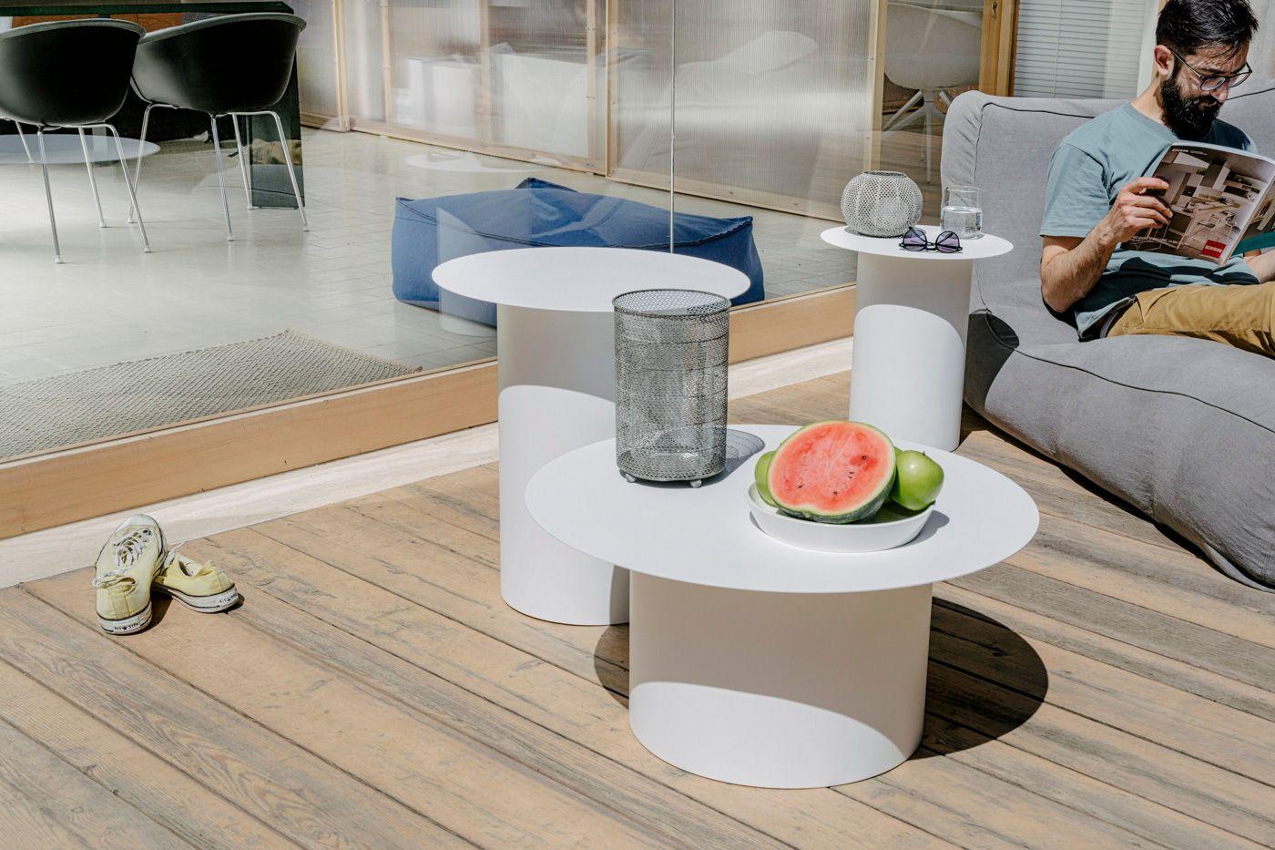 Chiodo na5 tisch von design studio associato f r marco for Tisch eins design studio
