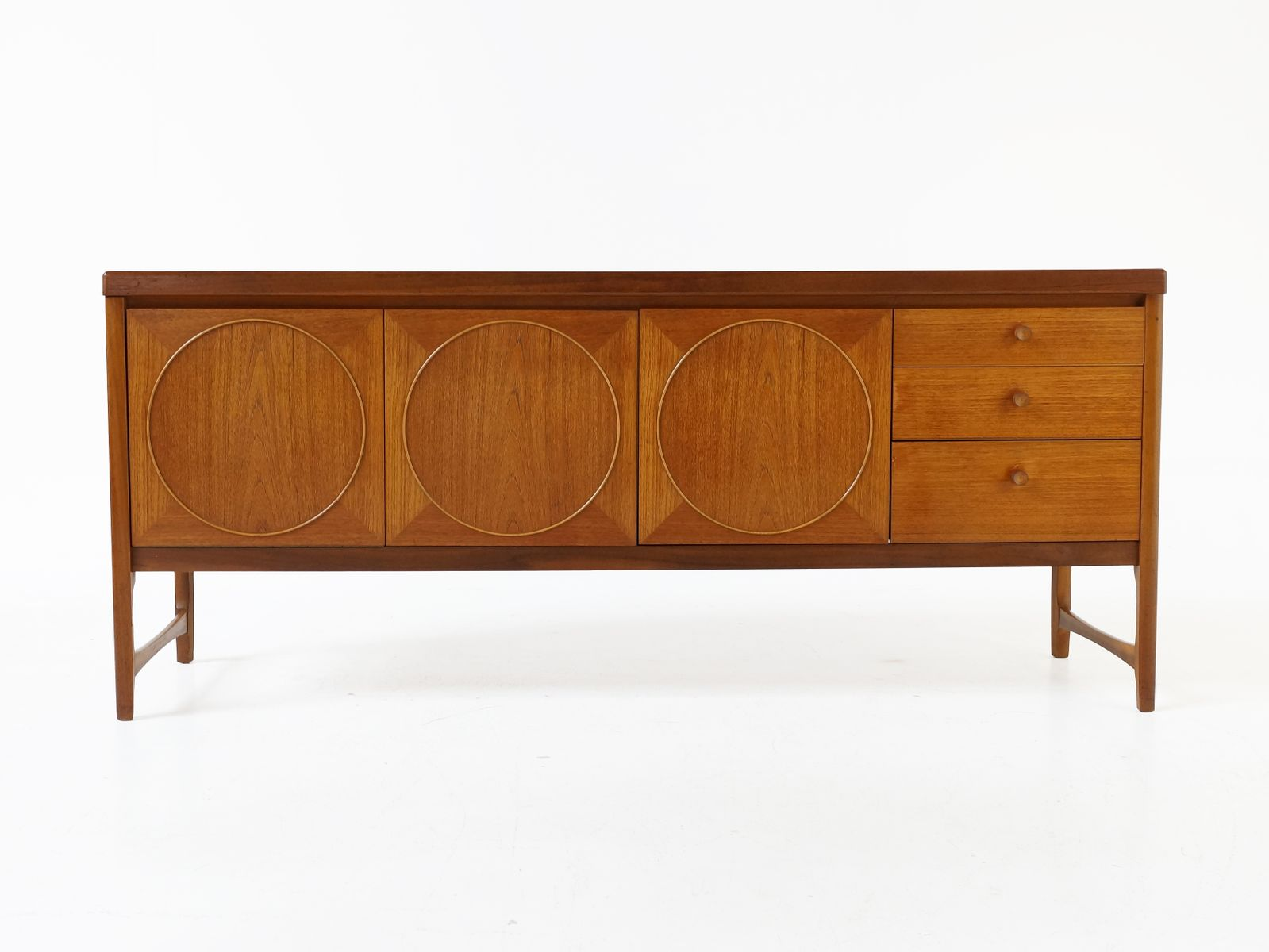 Mid Century British Circle Sideboard By Patrick Lee For