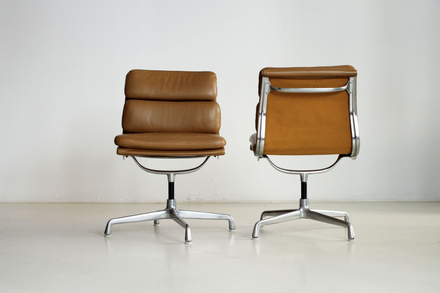 soft pad office chairs by charles eames for herman miller