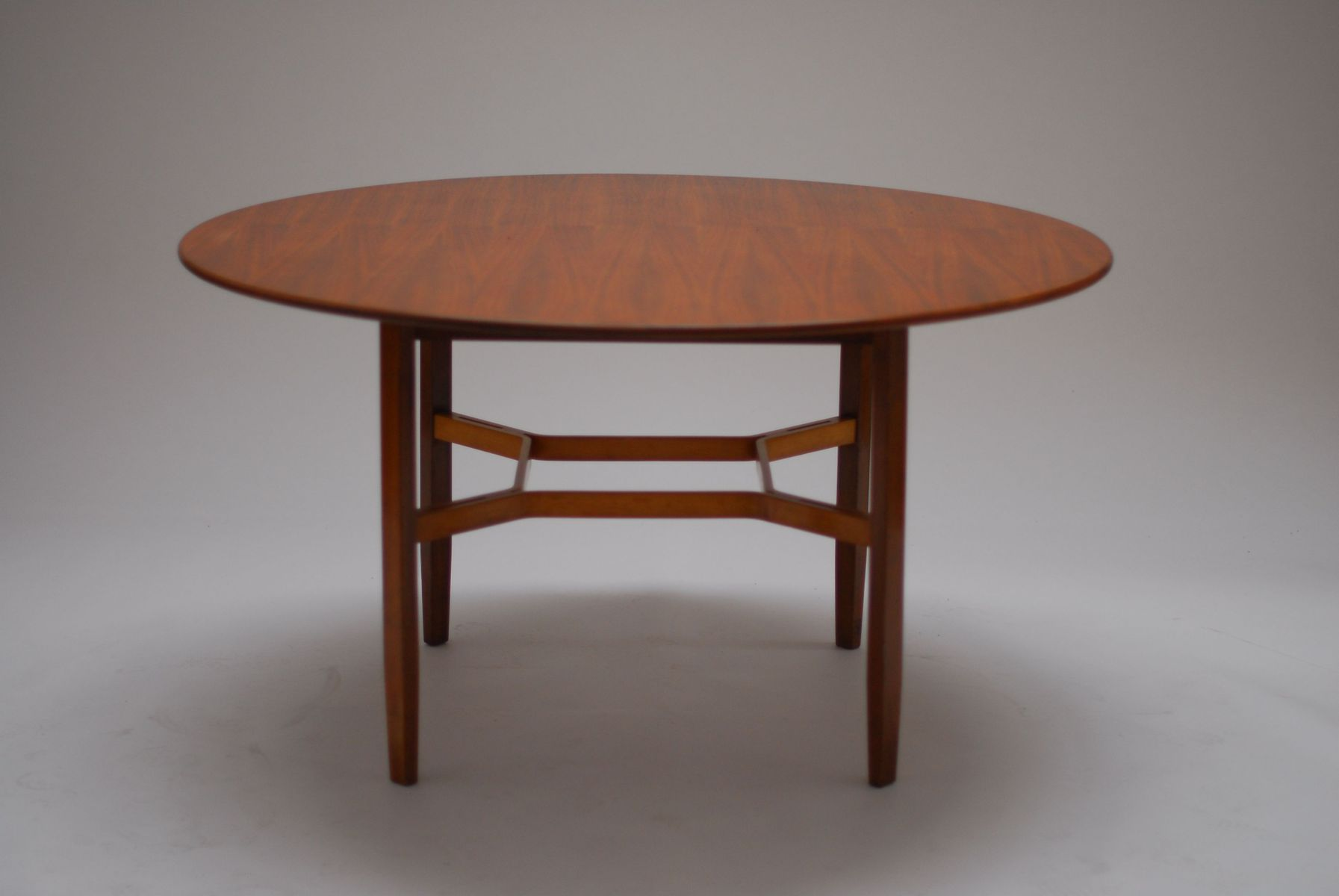 Walnut Dining Table By Lewis Butler For Knoll, 1955
