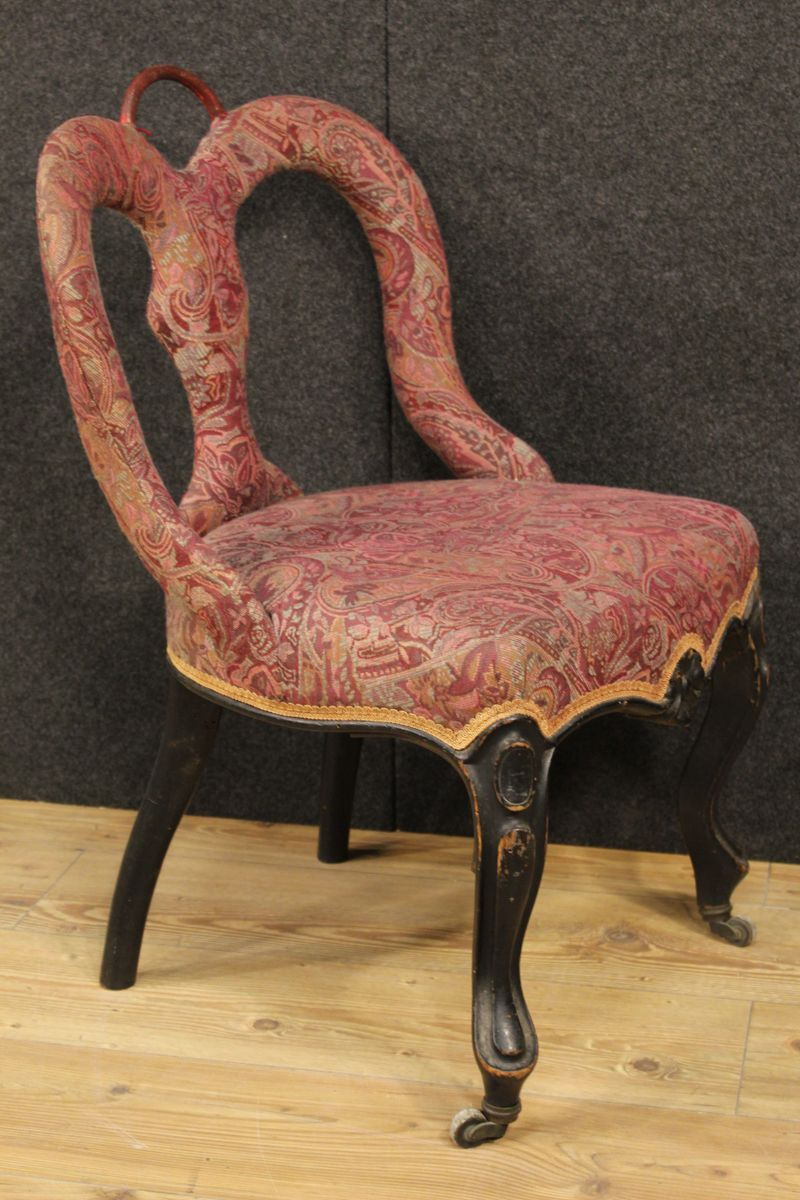 Antique italian chairs - Antique Italian Dining Chairs 1850s Set Of 4