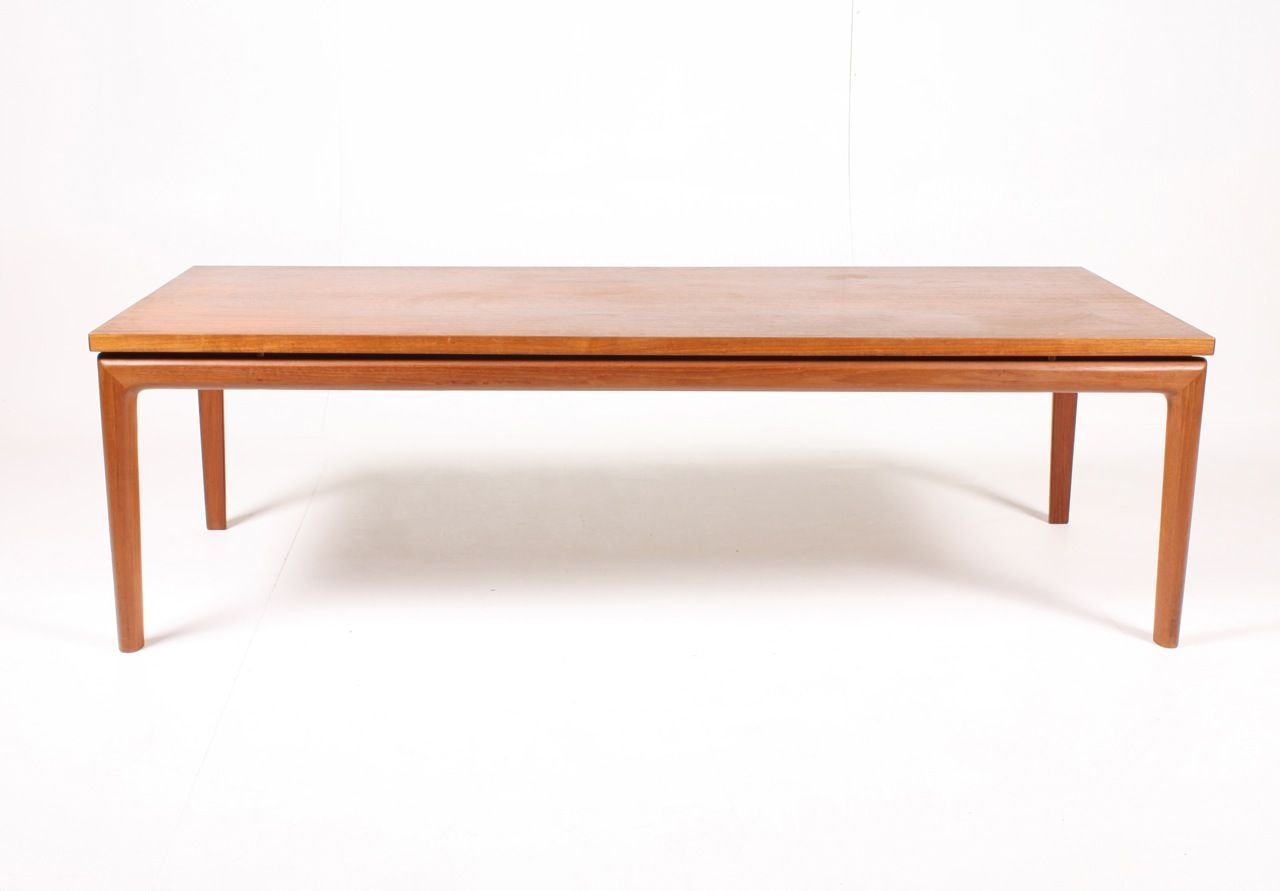 Danish Senator Teak Coffee Table By Ole Wanscher For France S N 1960s For Sale At Pamono