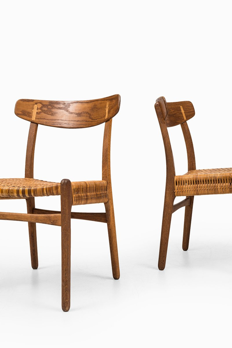 Model CH 23 Dining Chairs By Hans Wegner For Carl Hansen U0026 Son, Set Of 8  For Sale At Pamono