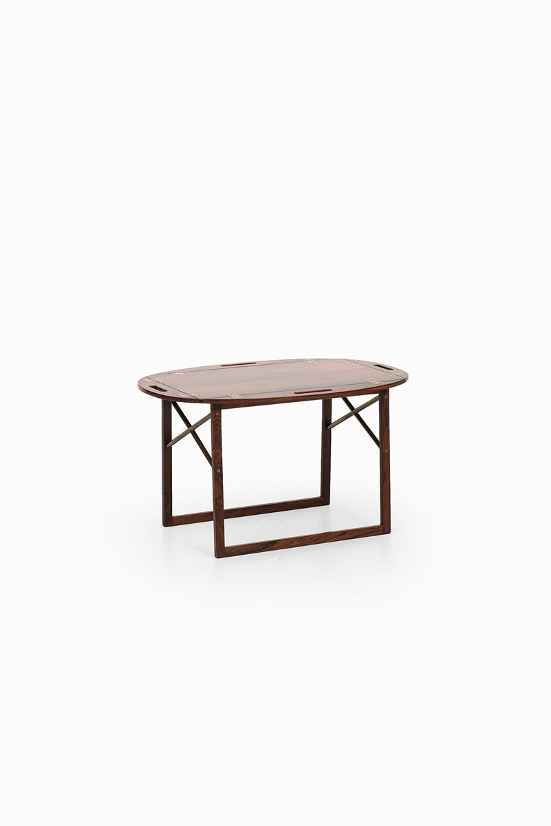 Butler Tray Coffee Table Butlers Tray Table By Svend Langkilde For Illum Bolighus 1950s