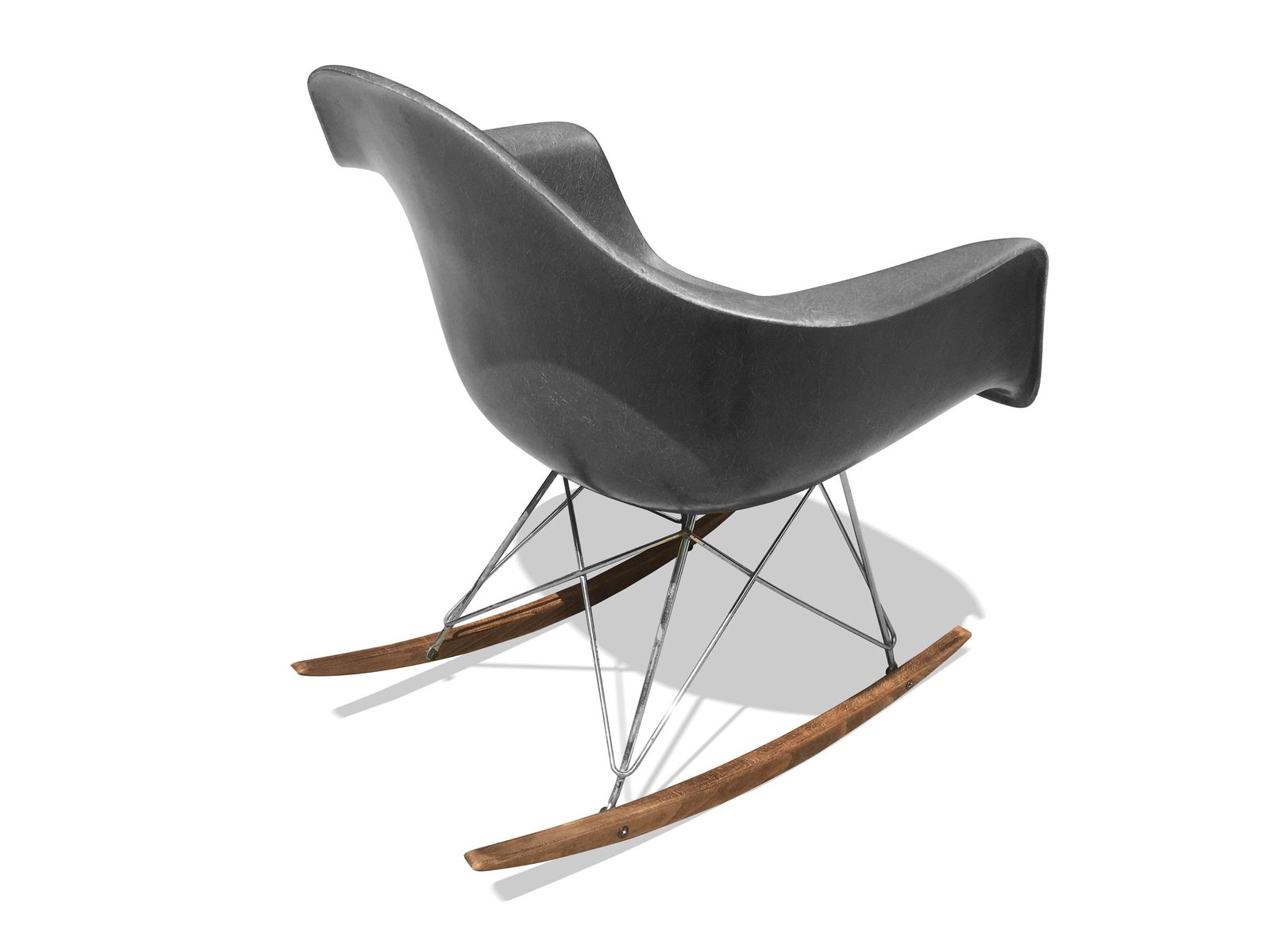 american rar rocking chair by charles ray eames for. Black Bedroom Furniture Sets. Home Design Ideas