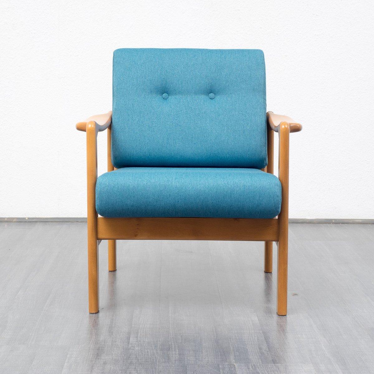 Fauteuil Bleu Pétrole : fauteuil bleu p trole 1960s en vente sur pamono ~ Teatrodelosmanantiales.com Idées de Décoration