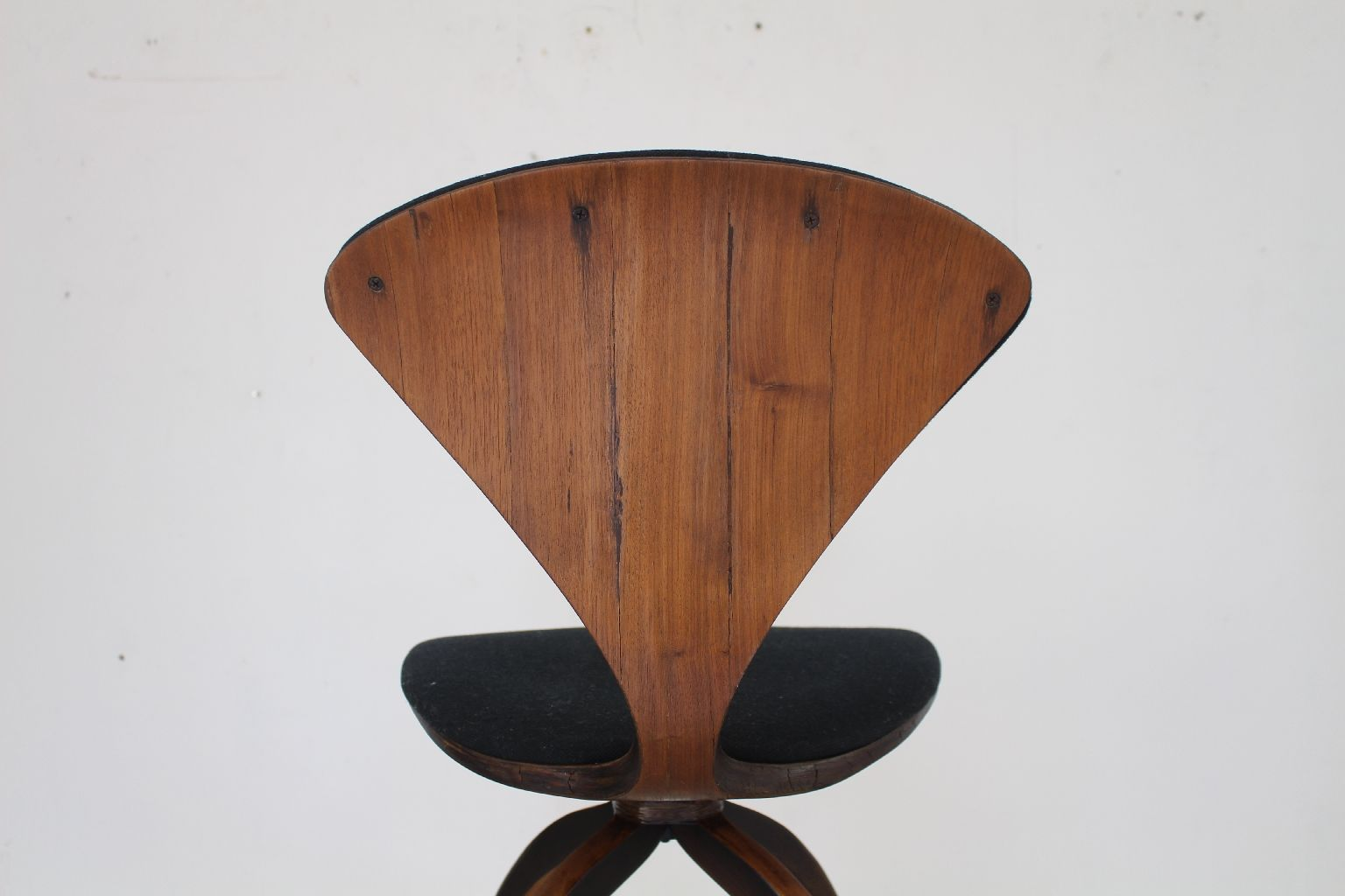 Plywood Barstool By Norman Cherner For Plycraft 1965 For