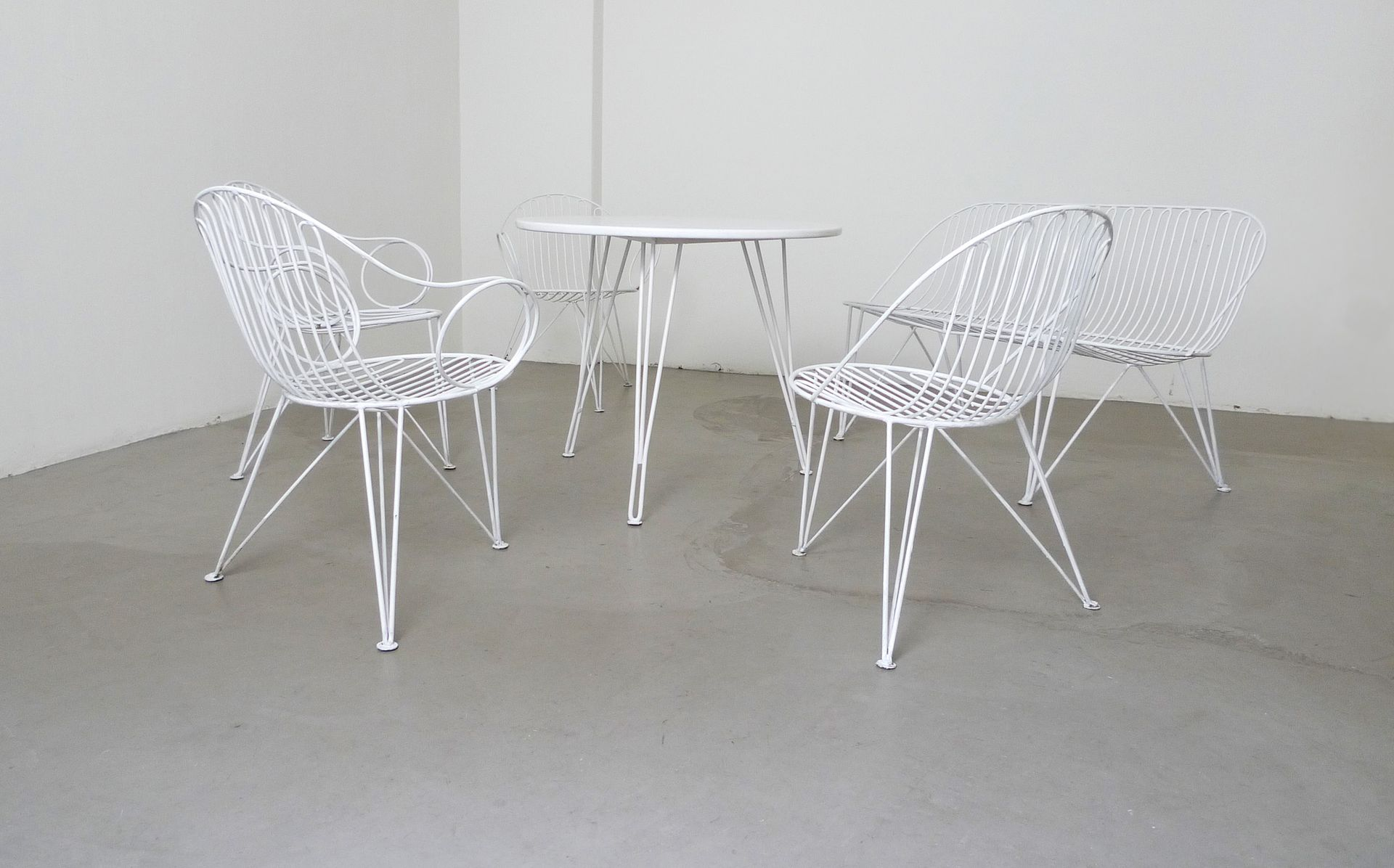 deutsche gartenm bel von mauser 1950er bei pamono kaufen. Black Bedroom Furniture Sets. Home Design Ideas